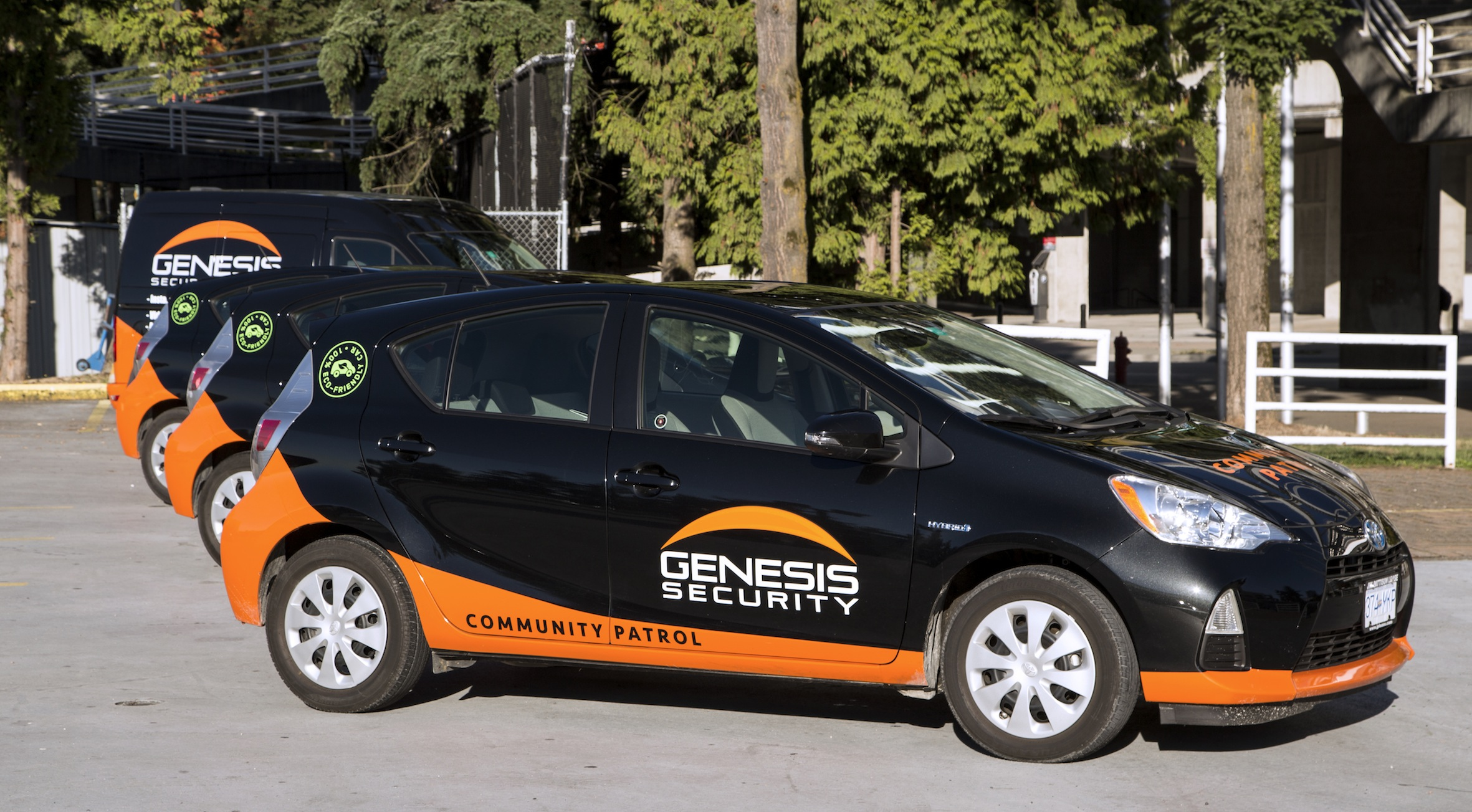 Genesis Security Renews Its Community Patrol Fleet and Stays Eco-Friendly