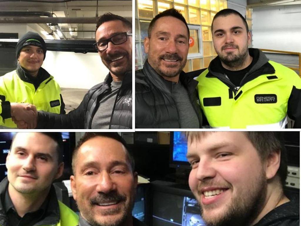 Outstanding Genesis Security Staff