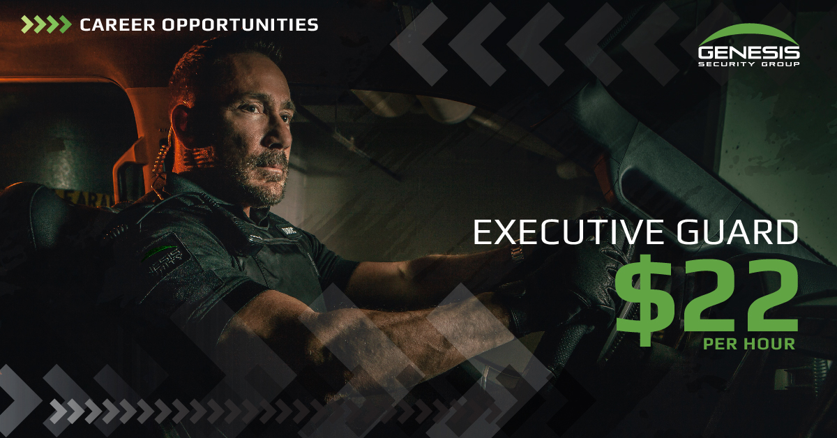 Hiring – $22 – Executive Guards