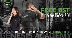 Weekday Basic Security Training (BST) @ John Volken Academy 6869 King George Blvd Surrey, BC V3W 4X3